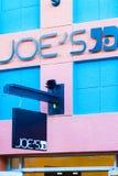LAS VEGAS NEVADA, Sierpień, - 22nd, 2016: Joe logo Na sklepu przodzie Zdjęcie Royalty Free