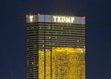 LAS VEGAS, NEVADA - Trump Tower stock image