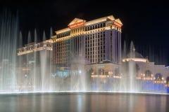 Las Vegas city at night stock photos