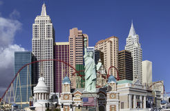 Las Vegas - Nevada - USA. 'New York New York' Casino and hotel in Las Vegas in the state of Nevada in the USA stock photography