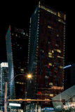 LAS VEGAS, NEVADA/USA - AUGUST 2 : Apartment Blocks at night in Royalty Free Stock Image