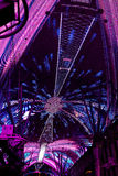 LAS VEGAS, NEVADA/USA - AUGUST 3 : The Fremont light experience Stock Photography