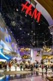 LAS VEGAS, NEVADA/USA - 2. AUGUST: H&M-Shop im Forumeinkaufen lizenzfreie stockbilder
