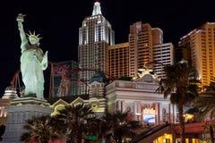Las Vegas, NEVADA/USA - 2. August; Replik-Statue von Libert lizenzfreies stockfoto