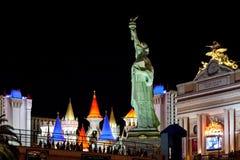Las Vegas, NEVADA/USA - 2. August; Replik-Statue von Libert stockfoto