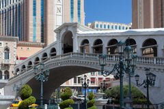LAS VEGAS, NEVADA/USA - AUGUST 2 : Venetian hotel and casino at Royalty Free Stock Image