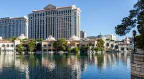 LAS VEGAS, NEVADA/USA - AUGUST 1 : View of Caesar's Palace in La Stock Photography