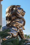 LAs VEGAS, NEVADA/USA - AUGUST 1 ; View of the MGM Lion in Las V Stock Image