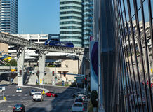 LAS VEGAS, NEVADA/USA - AUGUST 1 ; View of the Monorail  in Las Royalty Free Stock Image