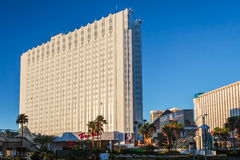 LAs VEGAS, NEVADA/USA - AUGUST 1 ; View of Tropicana Hotel in La Stock Photography
