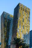 Las Vegas, NEVADA/USA - 1 AUGUSTUS: Mening bij zonsopgang van flat Royalty-vrije Stock Fotografie