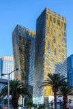 Las Vegas, NEVADA/USA - 1 AUGUSTUS: Mening bij zonsopgang van flat Stock Fotografie