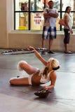 LAS VEGAS, NEVADA/USA - 3 DE AGOSTO: Executor da rua em Las Vegas fotos de stock royalty free