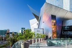 Las Vegas, NEVADA/USA - 1 de agosto: Vista de la entrada a los cristales Fotografía de archivo libre de regalías