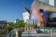 Las Vegas, NEVADA/USA - 1 de agosto; Vista de la entrada a los cristales Imagen de archivo
