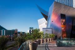 Las Vegas, NEVADA/USA - 1 de agosto: Vista de la entrada a los cristales Imágenes de archivo libres de regalías