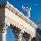 Las Vegas, NEVADA/USA - 1º de agosto: Vista no nascer do sol de um anjo p Imagens de Stock