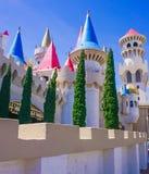 Las Vegas, Nevada/USA; 11 de mayo de 2018: El exterior del Excalibur foto de archivo