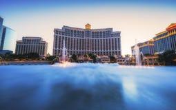 Las Vegas, Nevada, usa 05/28/17: fontann przedstawienia przy Bellagio casi Zdjęcie Royalty Free