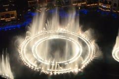 Las Vegas, Nevada, USA - January 23, 2016:Las Vegas, Nevada, USA - January 23, 2016: View of Bellagio Fountain Show from Eiffel. The Las Vegas Strip is a stretch stock photos