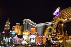 Las Vegas, Nevada, USA - January 24, 2015: Las Vegas Strip at Night stock photo