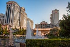 Las Vegas, Nevada, USA - June 27, 2014: The famous Hotel Caesar Palace in Las Vegas stock images