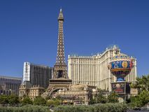 Paris Las Vegas Stock Photography