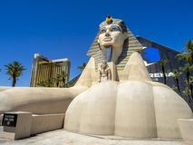 Statue of the Sphinx, Luxor, Las Vegas Royalty Free Stock Image