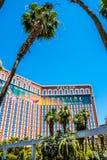 Treasure Island, Luxurious casino and hotel. Las Vegas Tourist Attractions, Nevada. Las Vegas, Nevada, USA - June 18, 2017: Treasure Island Hotel and  Casino and Stock Photography