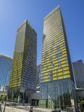 Veer Towers at CityCenter in Las Vegas Stock Photos