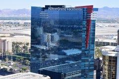 Las Vegas Nevada - USA - Juni 05,2017 - Hilton Grand Vacations Arkivbilder