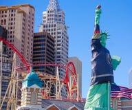 Las Vegas, Nevada/USA: Maj 11, 2018: Nowy Jork Nowy Jork hotel i Ca obraz royalty free