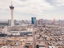 Stratosphere Tower in Las Vegas Royalty Free Stock Photos