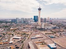 Stratosphere Tower in Las Vegas Royalty Free Stock Image