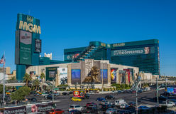 LAS VEGAS NEVADA, USA: AM 18. NOVEMBER 2016 - Mgm Grand, Las Vegas Blvd USA Lizenzfreie Stockfotos