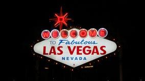 LAS VEGAS, NEVADA, USA 8 SEP 2011, Welcome to Fabulous Las Vegas Stock Images