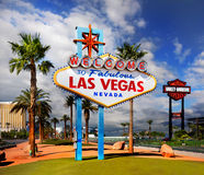 Las Vegas. Welcome To Fabulous Las Vegas Nevada, sign. USA royalty free stock images