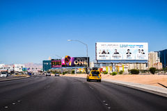 Las Vegas Nevada, Wschodnia Tropicana aleja Obraz Royalty Free