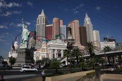 Las Vegas - New York Hotel Stock Image