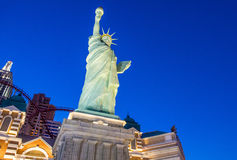 Las Vegas New York hotel Stock Photography