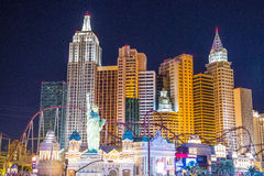 Las Vegas New York hotel Stock Image