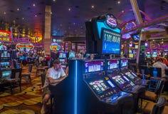 Las Vegas New York hotel Royalty Free Stock Photos