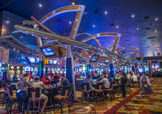 Las Vegas New York hotel Stock Images