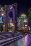 Las Vegas New York hotel Stock Photos
