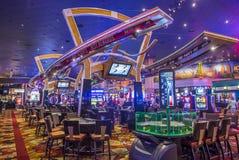 Las Vegas New York hotell Fotografering för Bildbyråer