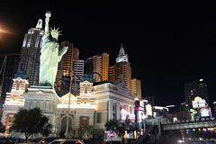 Las Vegas, New York New York. Royalty Free Stock Photos