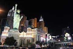 Las Vegas, New York New York. #beautiful #america #usa #dream #nevada #lasvegas #night #welcome #newyork #hotel #bynight Royalty Free Stock Photos