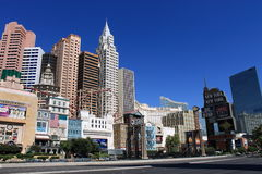 Las Vegas - New York New York Hotel Royalty Free Stock Photography