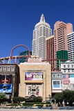 Las Vegas - New York New York Hotel and Casino Royalty Free Stock Images