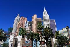 Las Vegas - New York New York Hotel Royalty Free Stock Photos